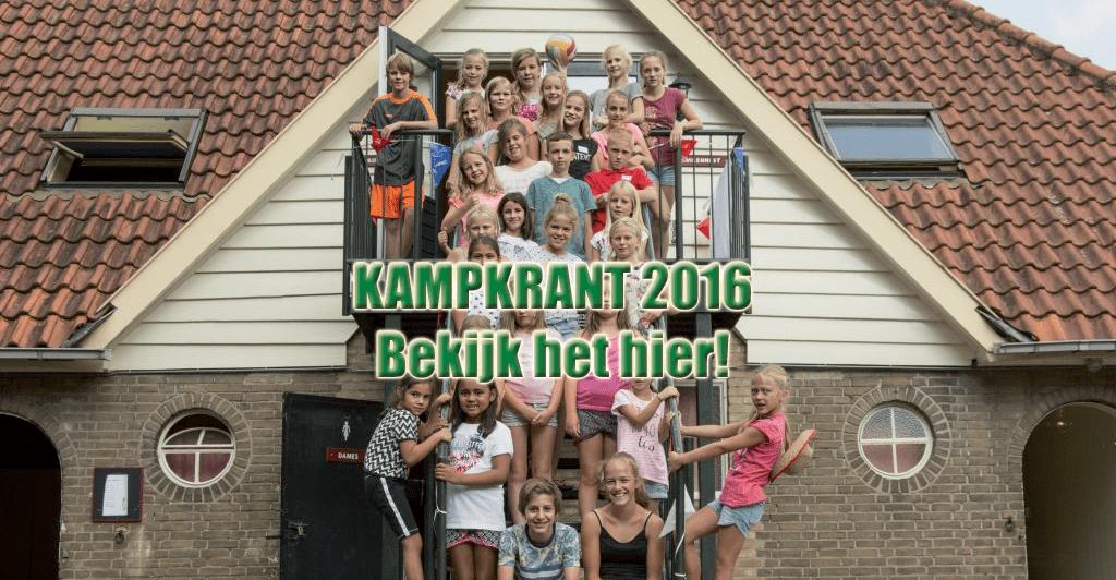 Kampkrant 2016