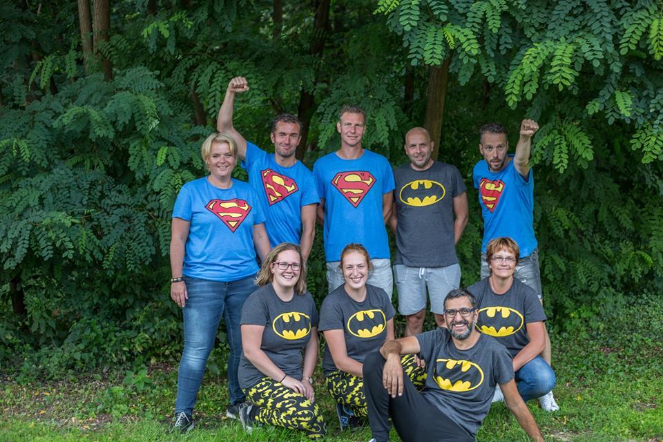 Minikamp en Superhelden